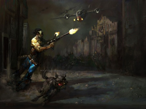 Big unofficial expansion mod for RPG classic Fallout 2