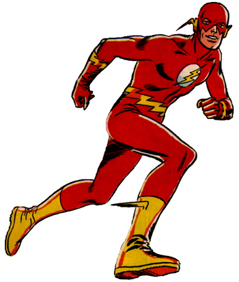 DC Comics The Flash Muscle