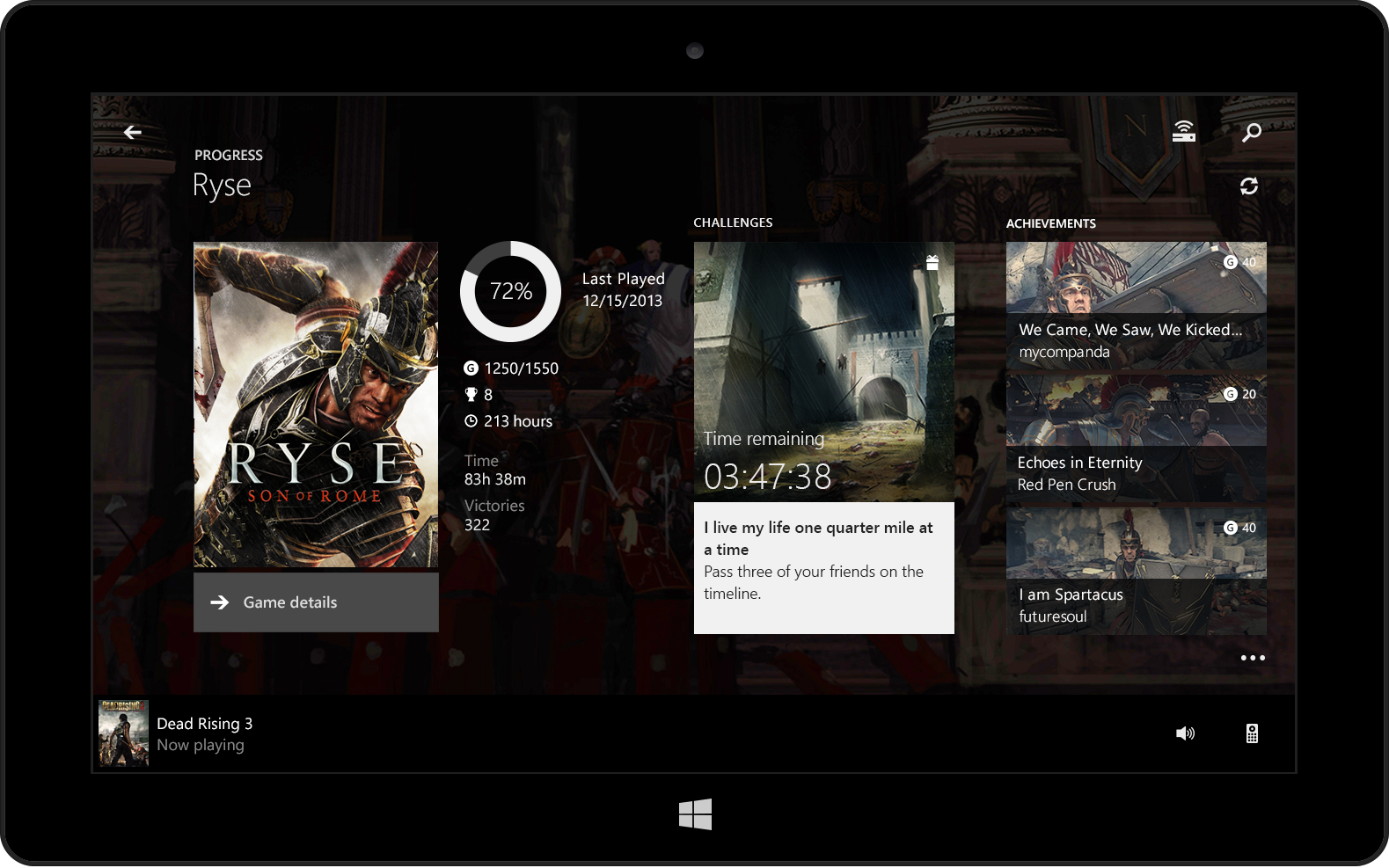 Xbox One's SmartGlass app now available for download