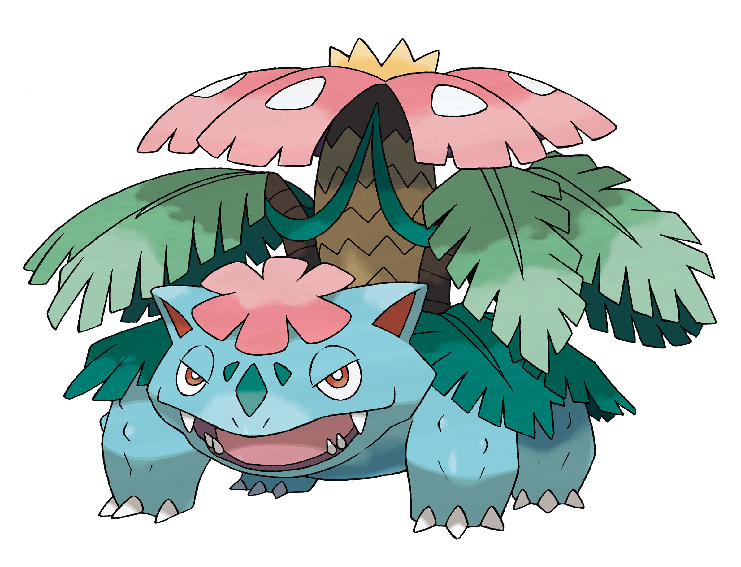 Pokemon x and y doubles the starters with bulbasaur - Pokemon mega evolution ex ...