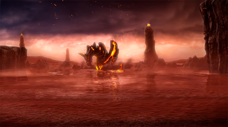 Monster Hunter 3 Ultimate Intro Movie Places Dragons On Land Sea