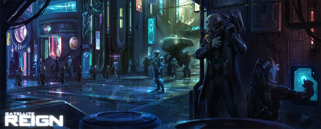 Successfully funded on Kickstarter Cyberpunk RTS Satellite Reign taking donations via Paypal