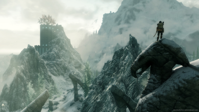 Skyrim Special Edition on Nintendo Switch brings amiibo and