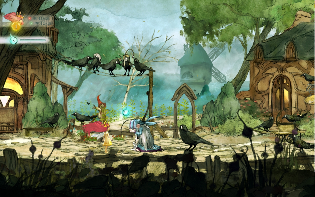 ubisoft announces child of light a gorgeous rpg with a whimsical