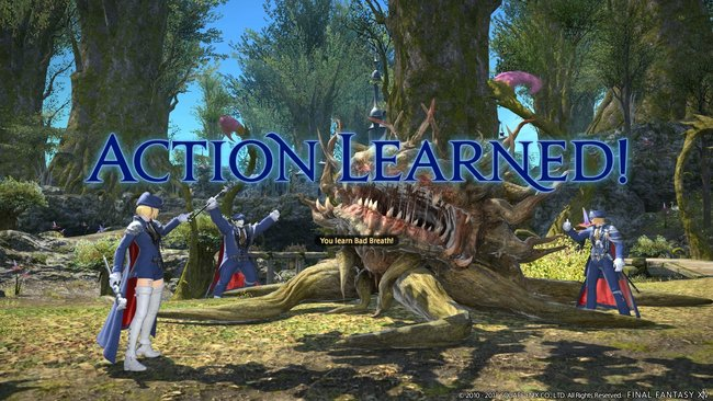 FFXIV goes monster hunting for spells with new Blue Mage job - Neoseeker