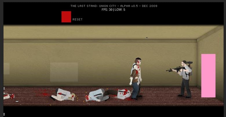 Zombie Flash Game