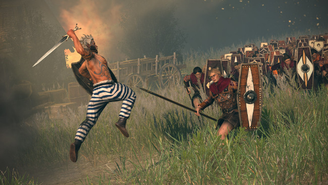 Total War: Rome II adds several units in Free August Warriors Update