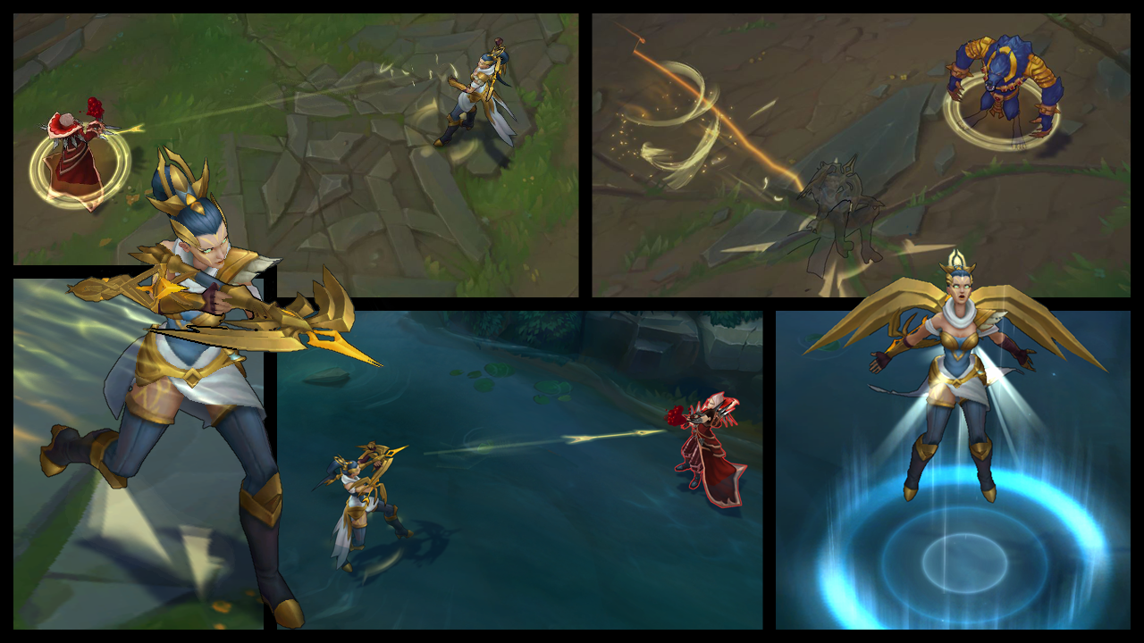 mysig färsk Förenta staterna väldigt billigt League of Legends' Arclight Vayne out now for 975 RP, and her ...