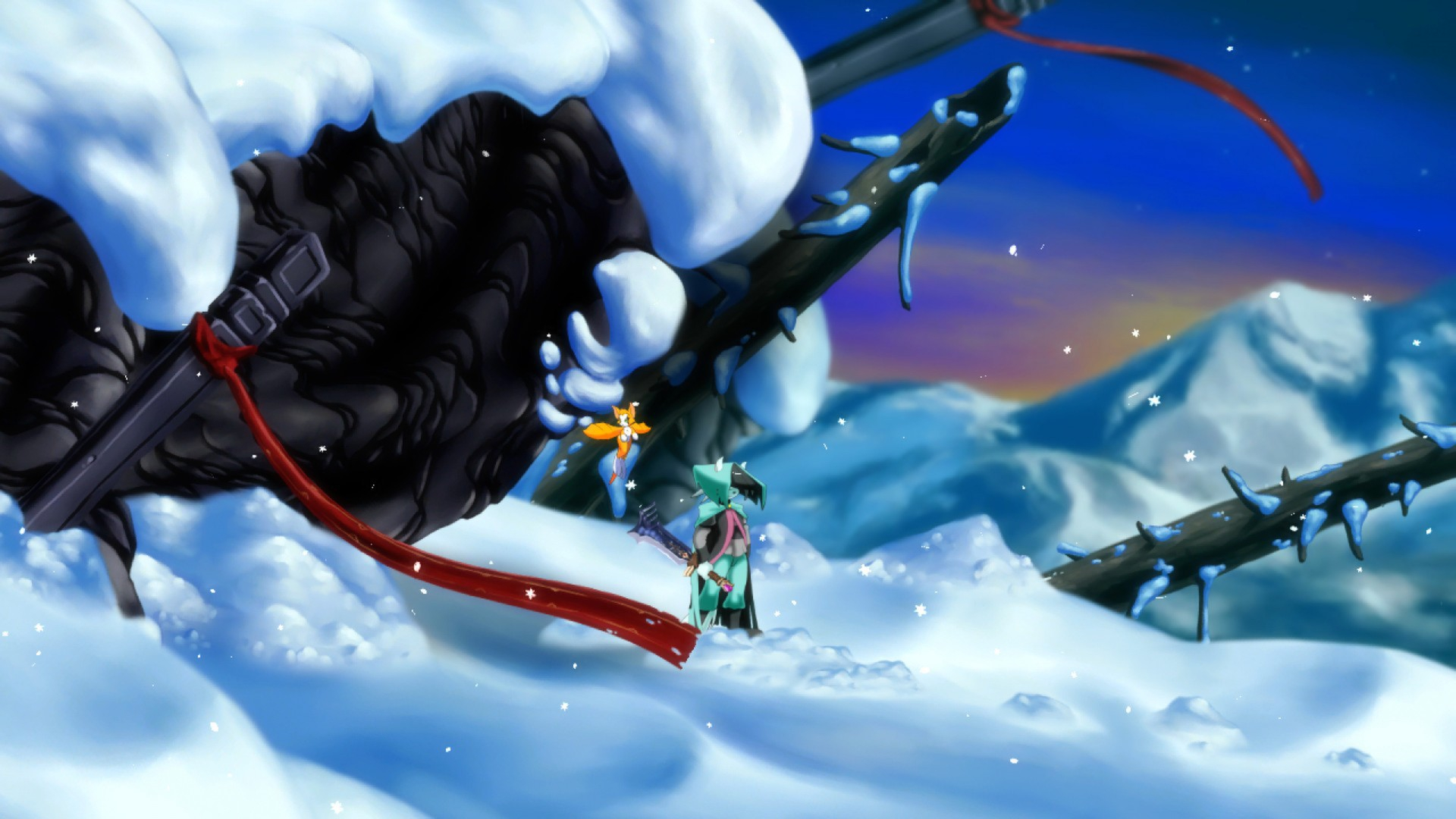 Dust An Elysian Tail Hitting Pc May 24 The Blade Of Ahrah And
