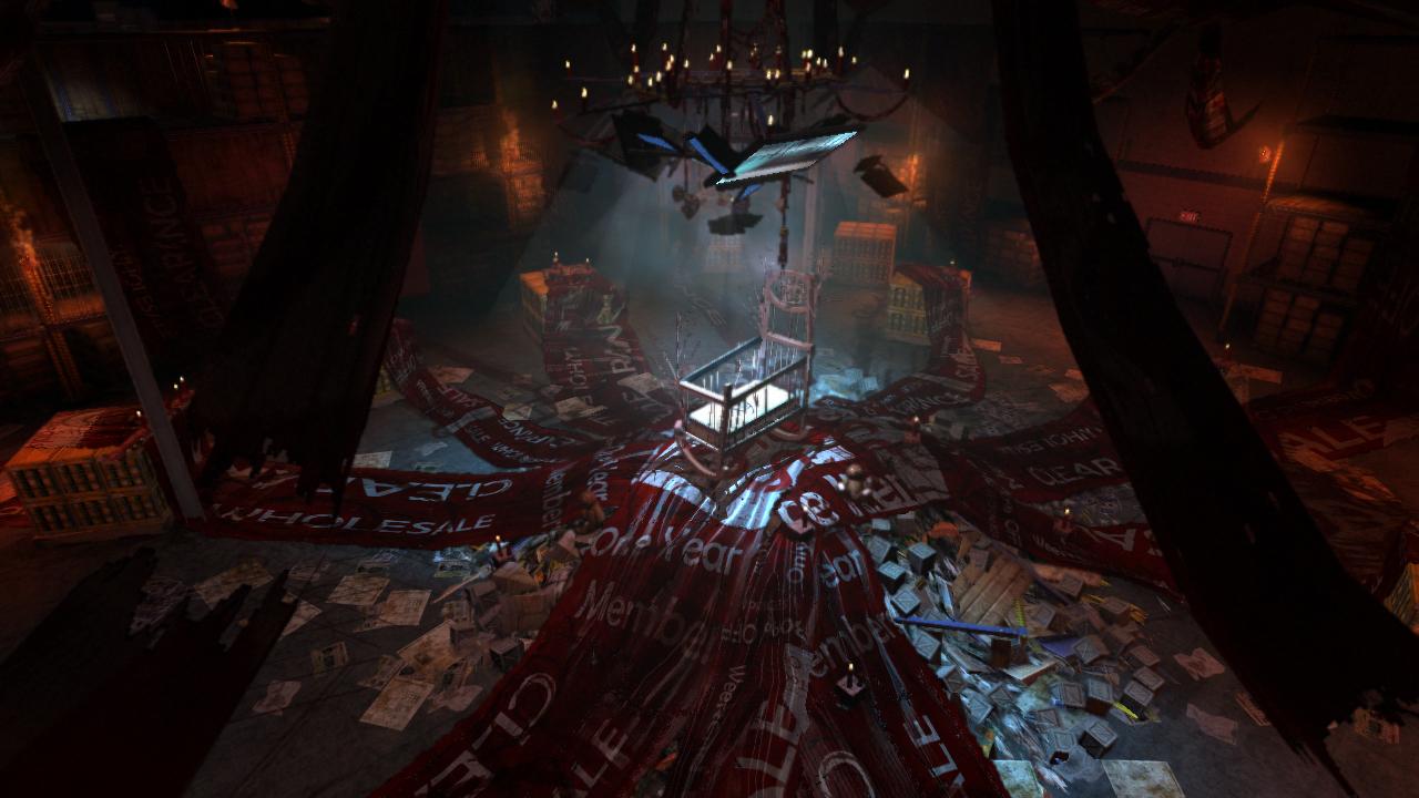 F E A R 3 Screenshots Feature Creepy Warehouse Level