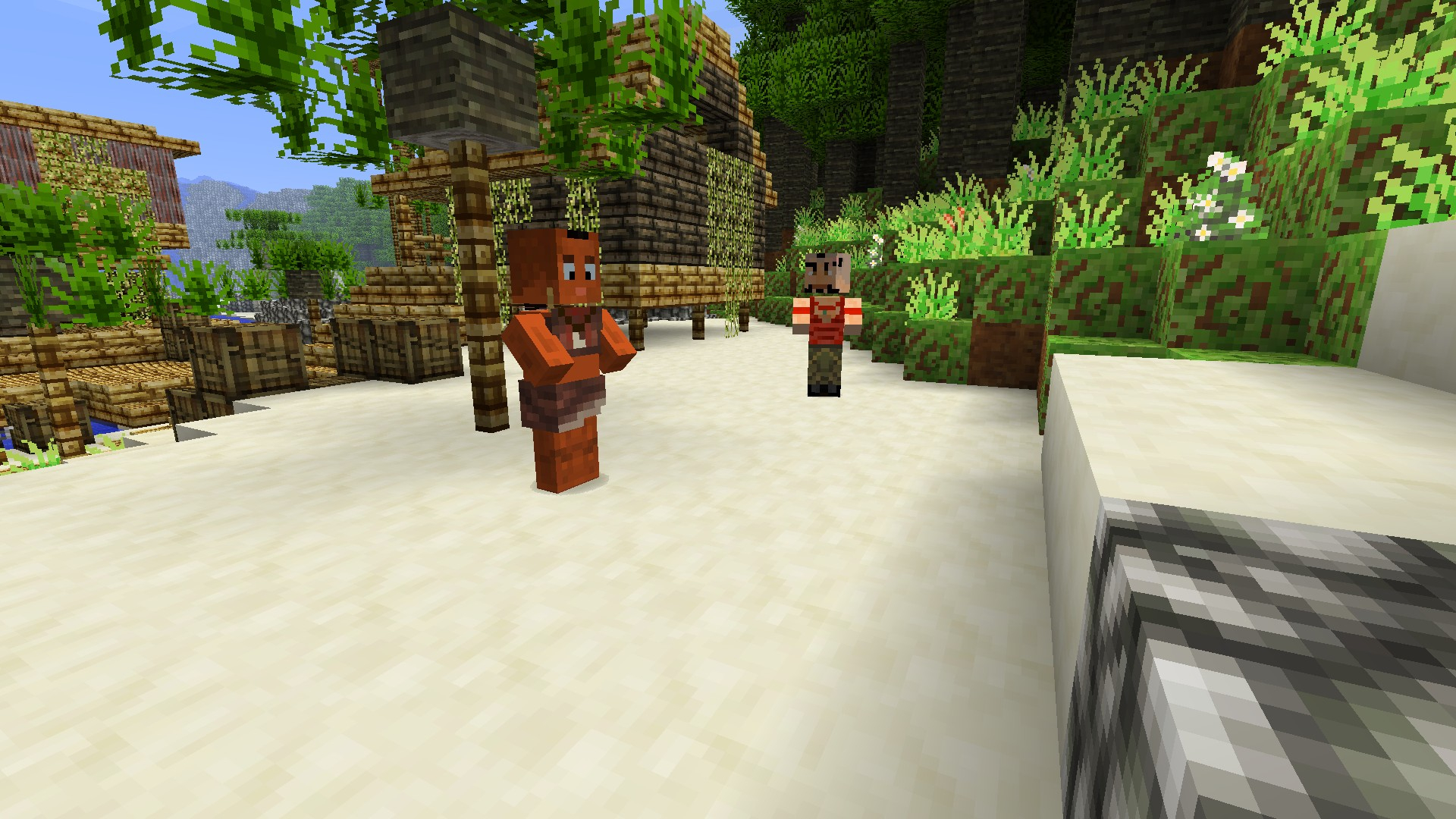 Far Cry 3 Comes To Minecraft Ubisoft Releases Free Themed Map And
