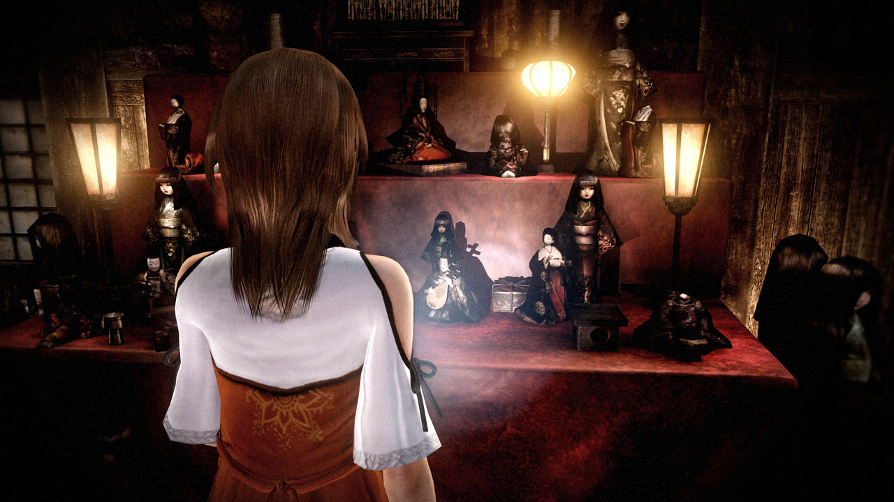 Fatal Frame: The Black Haired Shrine Maiden announced for Wii U ...