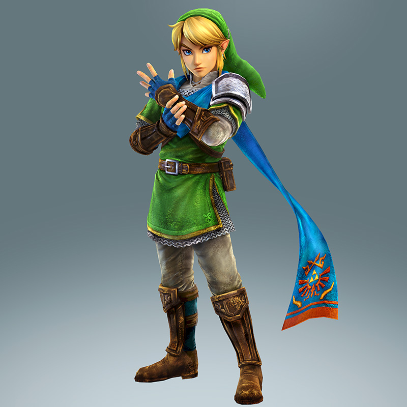 hyrule warriors website launches showcases link and cast