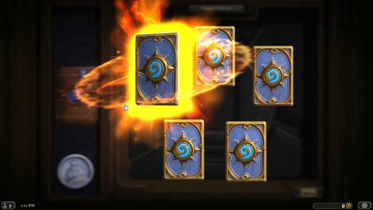 how to get hearthstone gold pack