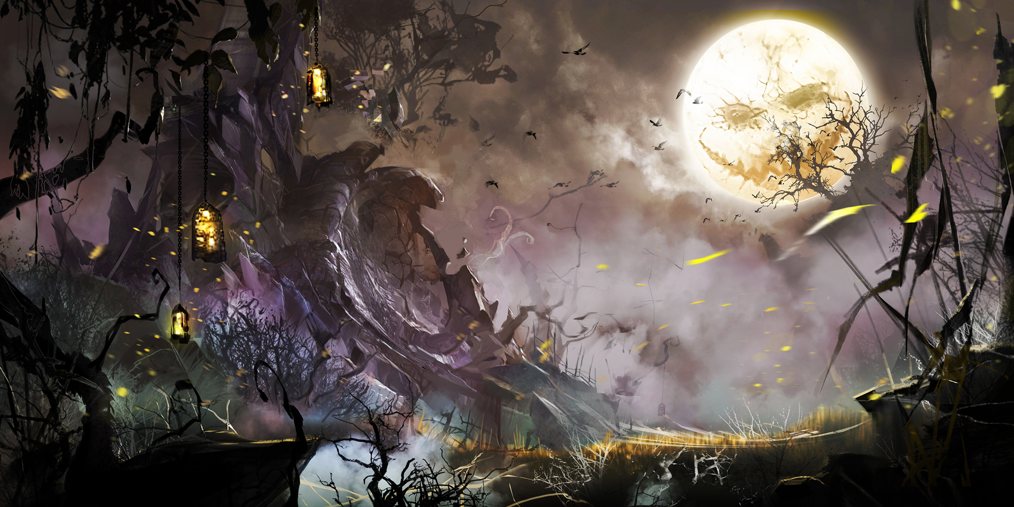 guild wars 2 halloween event kicks off october 22, teases mad king's