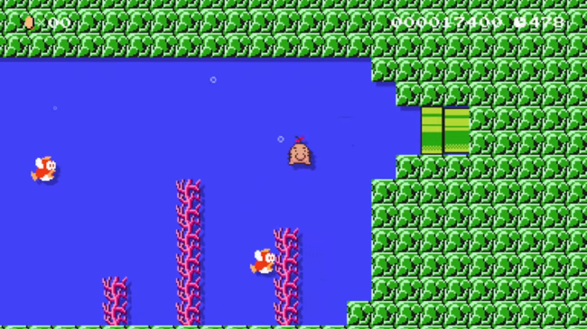 Super Mario Maker uses PK EarthBound to bring Mr  Saturn and Belch