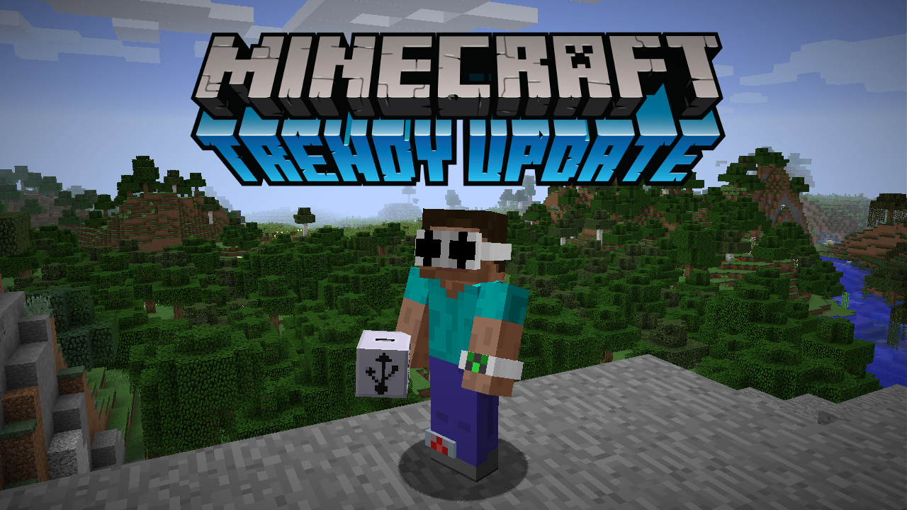 Minecraft's April Fools' Day update has been released, and ...