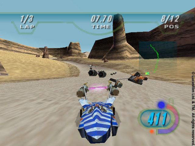 Star Wars: Episode I Racer (1999) ENG