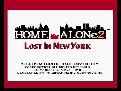Home Alone 2 Start Screen