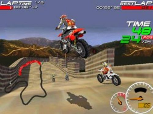Moto Racer 1 (PC Game 26MB)