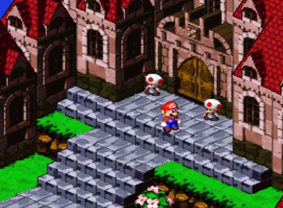 Image result for Super Mario RPG: Legend of the Seven Stars SNES