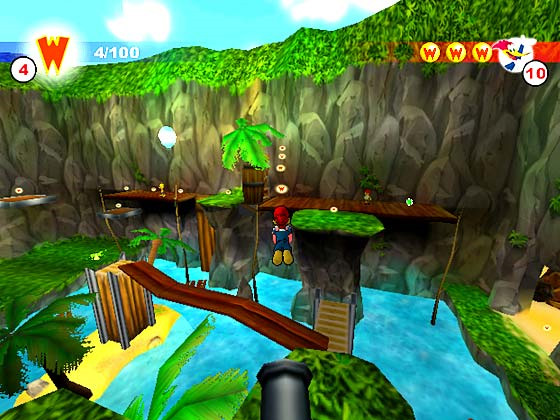 woody woodpecker escape from buzz buzzard park pc