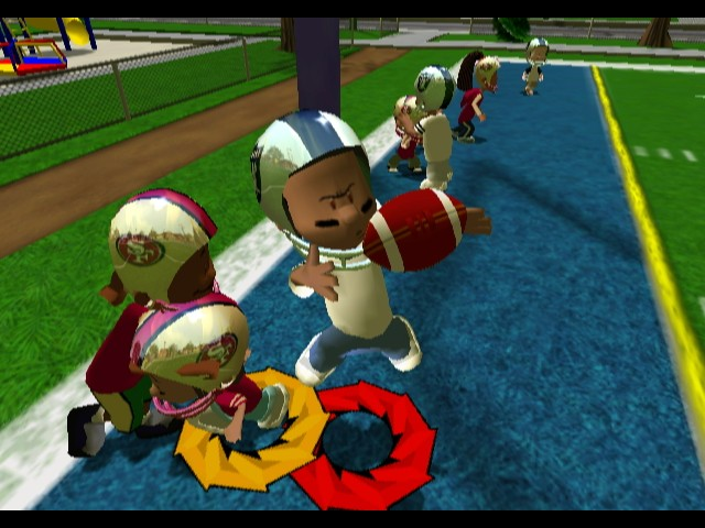Backyard Football Video Game backyard football screenshots - neoseeker