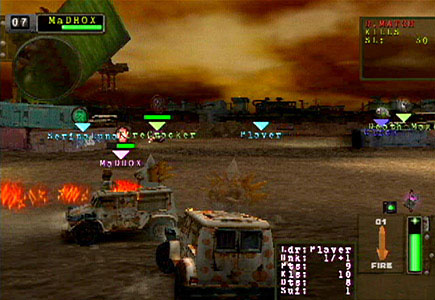 twisted metal black online screenshots neoseeker