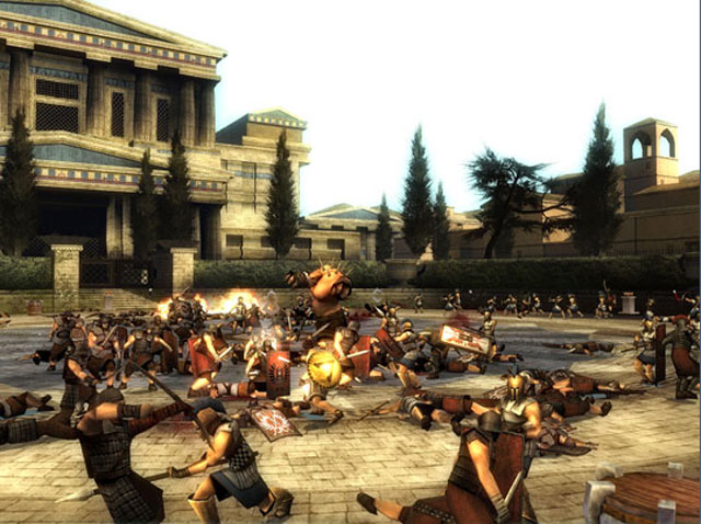 Spartan Total Warrior Screenshots Neoseeker