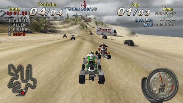 Resultado de imagem para ATV Offroad Fury Blazin' Trails PSP