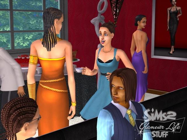 The Sims 2 Glamour Life Stuff Screenshots