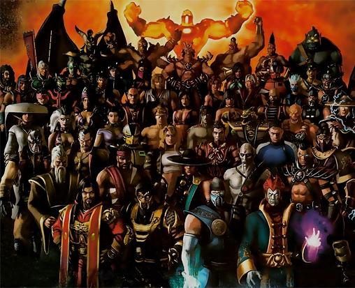 mortal kombat 9 characters pictures. Mortal Kombat warriors: