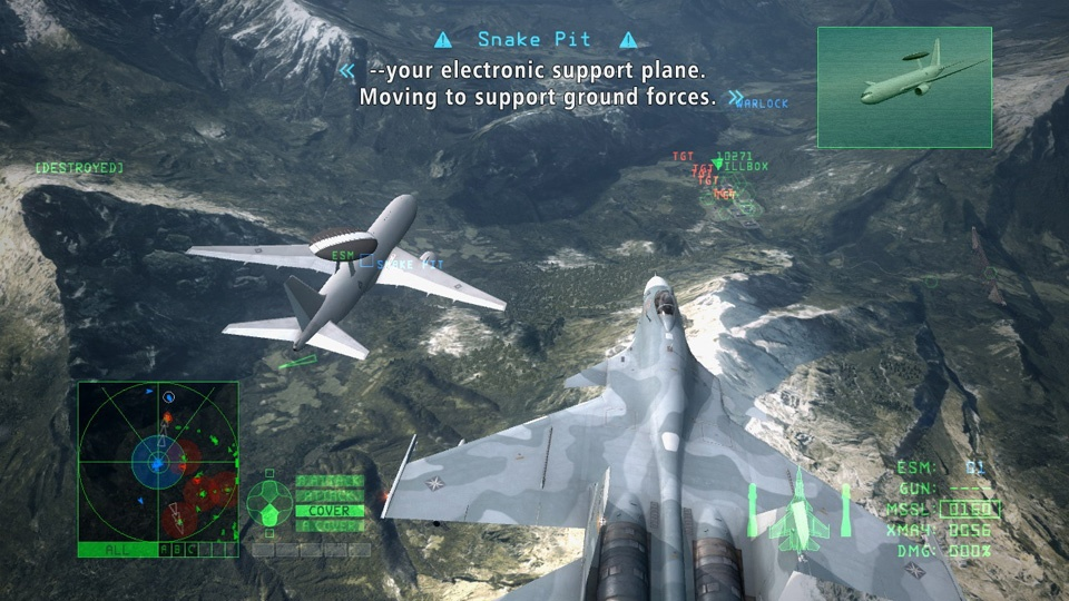 ace combat fires of liberation cheats