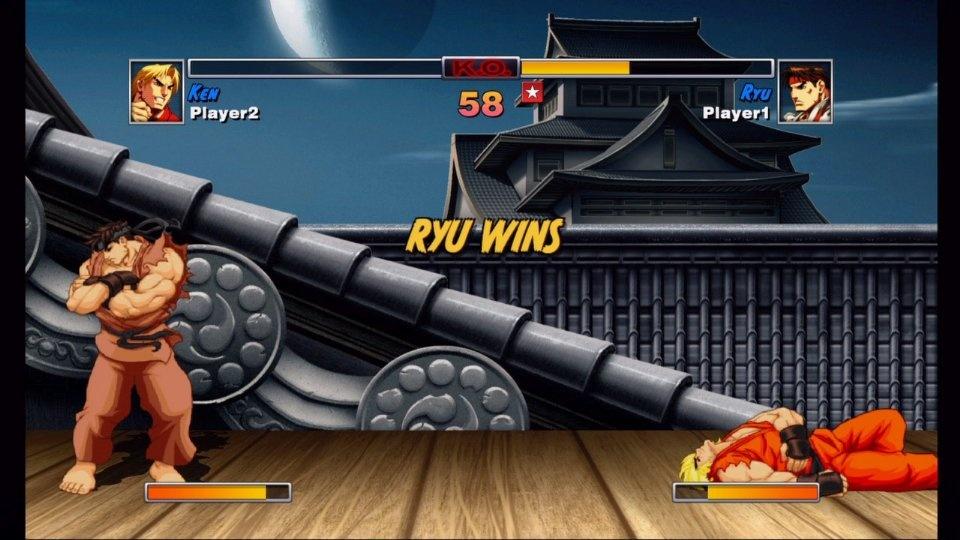 background street fighter 2 ryu stage