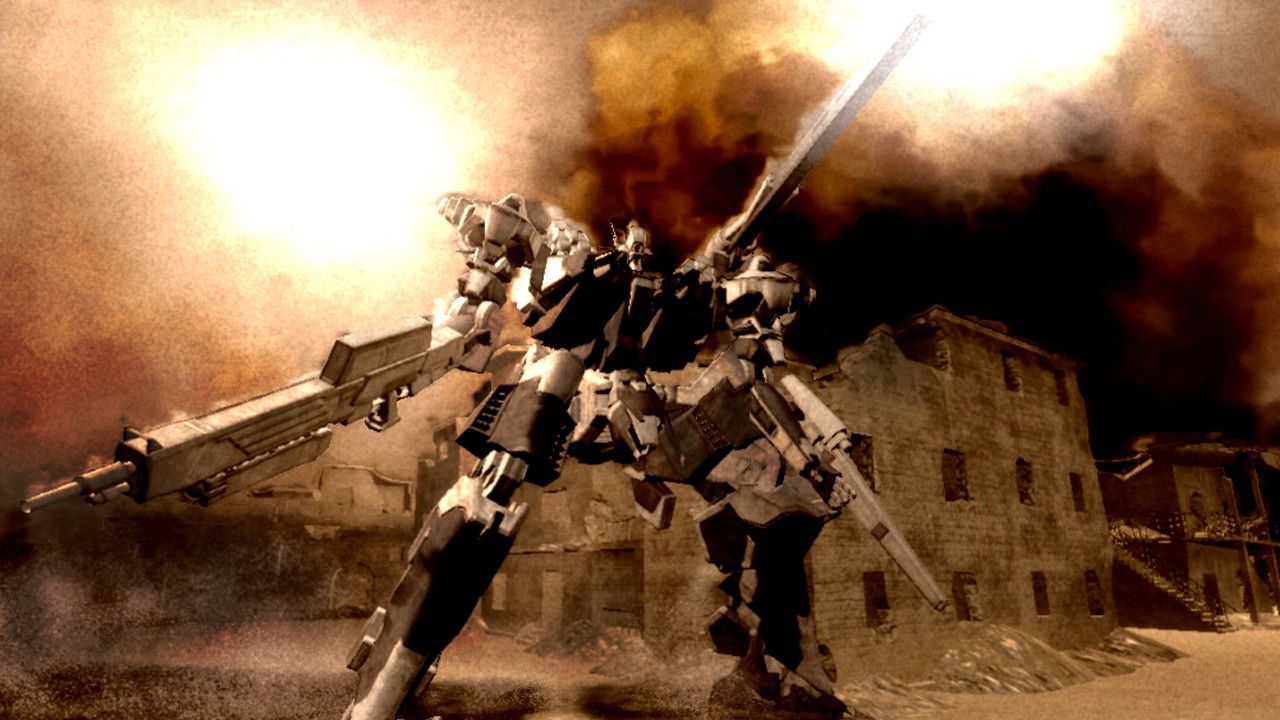 Armored Core For Answer Screenshots Neoseeker