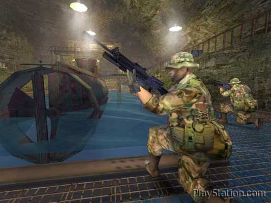 Tom Clancy's Ghost Recon: Jungle Storm (NGAGE) Screenshots
