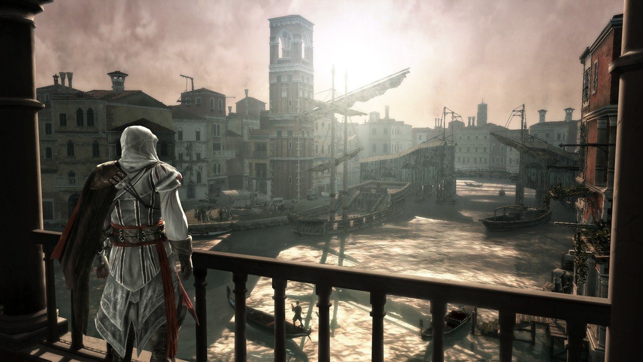 The game features a number of stunning Italian locations, but not Rome in its entirety, unfortunately.
