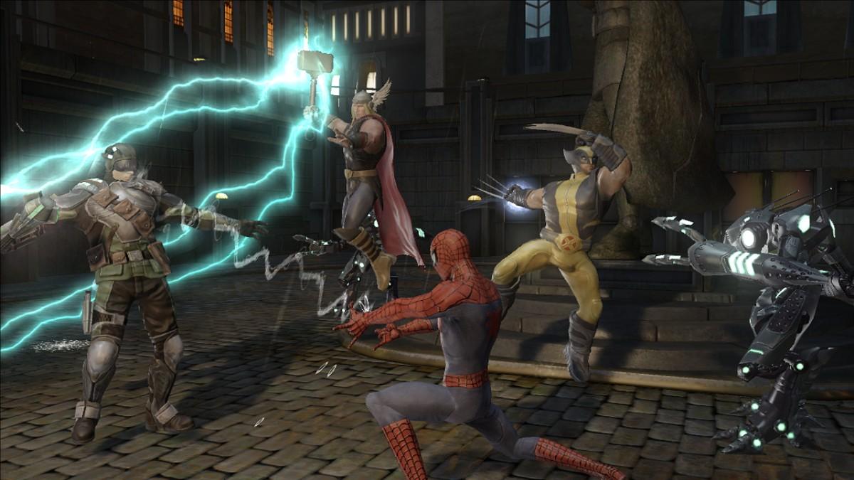 Marvel Ultimate Alliance Screenshot