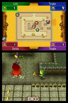 the legend of zelda: spirit tracks rom