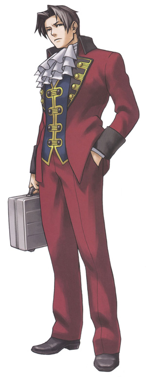 Miles Edgeworth Ace Attorney Wiki Neoseeker