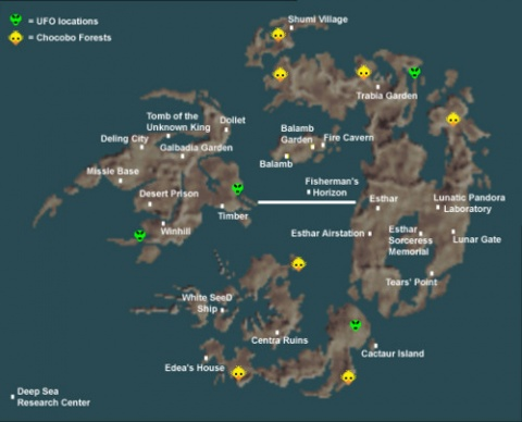 World map ffviii final fantasy wiki neoseeker edit world map gumiabroncs Image collections