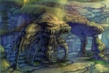 Mushroom Rock Artwork