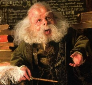 Professor Flitwick Veränderung