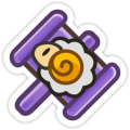 Baahammer Sticker PMSS.png