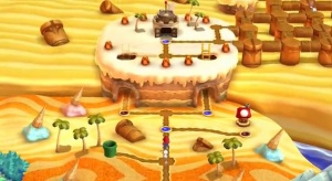Luigi Layer Cake Desert Secret Level