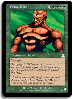 Rampage - Magic: The Gathering Wiki - Neoseeker