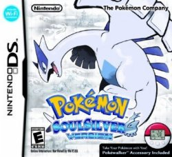 Pokemon Soul Silver - North American and UK boxart