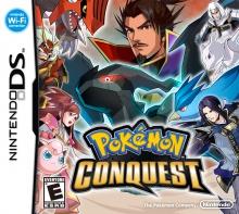Pokémon Conquest boxart