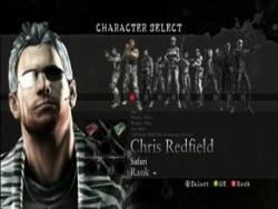 resident evil 5 mercenaries characters